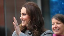 Kate Middleton wears $660 belted coat to the Children's Global Media Summit