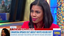 Omarosa Manigault Speaks Out After White House Exit: 'I Have Seen Things That Have Made Me Uncomfortable'