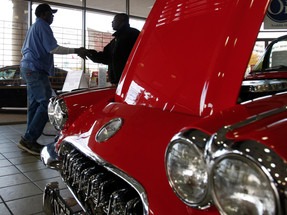 US auto sales bounced back in April