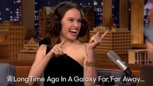 Daisy Ridley does the 'Star Wars' Whisper Challenge Princess Leia-style