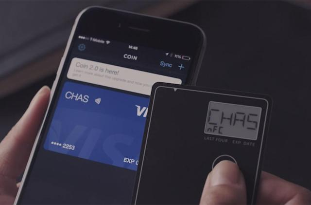 Coin's newest credit card replacement adds built-in NFC