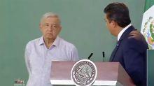 Otra mañanera incómoda entre AMLO y un gobernador, esta vez con Cabeza de Vaca, de Tamaulipas (video)