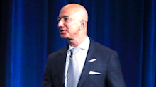 Jeff Bezos says Amazon is ready for a debate about regulation after Donald Trump's repeated attacks on the company (AMZN)