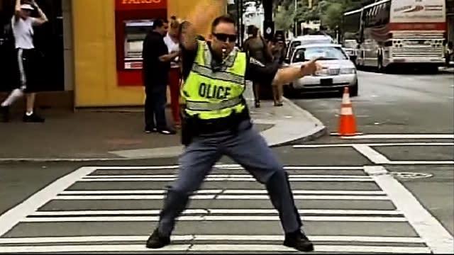 Watch: DNC traffic cops entertain crowds