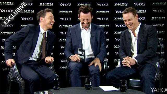 Watch: Michael Fassbender's uncanny Sir Ian McKellen X-Men impression