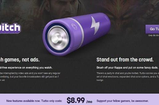 Twitch goes premium with Turbo: no ads and priority support for $9 a month