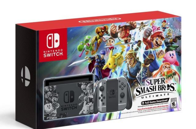 Switch 'Super Smash Bros. Ultimate' set bundles system and game for $360