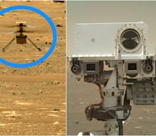 For the first time, you can hear the sound of NASA's Ingenuity helicopter flying on Mars