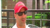 Tony Kanaan basking in Indianapolis 500 glory