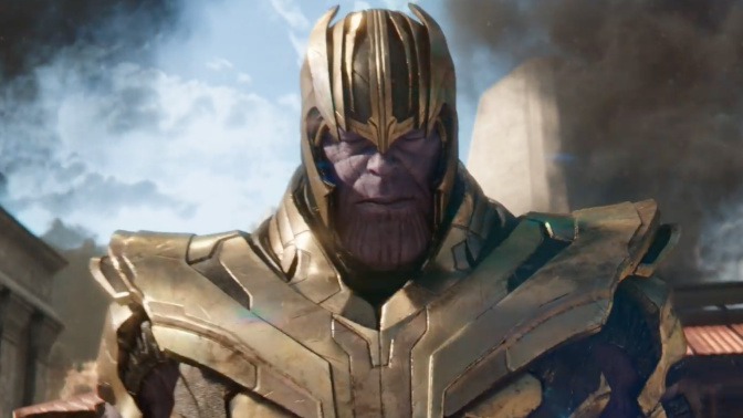 Thanos ups the ante in the incredible new 'Infinity War' trailer