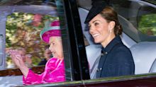 Kate Middleton und Prinz William begleiten Queen zum Gottesdienst in Balmoral