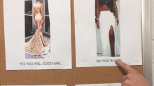 Florida high school blasted for 'good girl' posters detailing prom dress code
