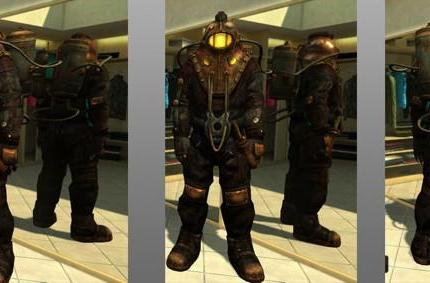 Become a Big Daddy in PlayStation Home via BioShock 2 pre-order