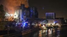 Incendie maîtrisé à l'usine Soufflet Alimentaire de Valenciennes (Nord)