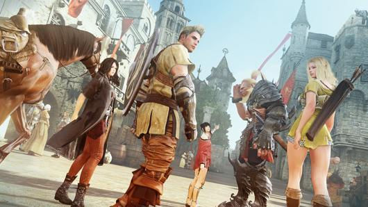 New Black Desert trailer boasts formation-based combat