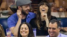 Jessica Biel and Justin Timberlake Pack on the PDA at the US Open