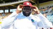 Cricket fans go nuts over 140kg Windies giant's Test debut