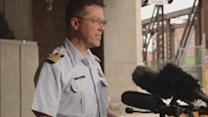 Coast Guard to suspend search for British sailors if nothing found by midnight Friday