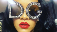 Rihanna Just Wore the Most Extra Sunglasses