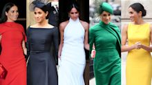 Meghan Markle's best fashion moments during her 682 days as a senior royal