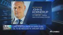 Maersk exec on steps being taken to reduce carbon footpri...