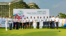 Media Members Tee Off At Forest City Classic Golf Course