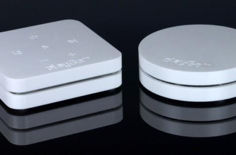 playGo USB does wireless audio in the style of a kitchen counter top (update)