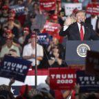 President Trump blasts Fox News, Joe Biden and 'artificial lights' at Pennsylvania rally