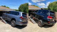 Toyota Land Cruiser vs Lexus LX 570 Suspension Flex Test