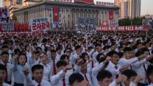 Pyongyang mounts show of support for leader Kim