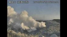 Japan's Ioyama Volcano Erupts for First Time in 250 Years