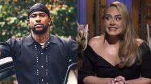 Rumores del romance de Adele con el rapero Skepta