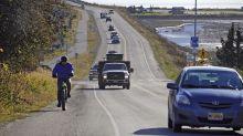 Large earthquake off Alaska prompts tsunami fears, fleeing