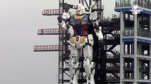 El robot más grande del mundo, da sus primeros pasos
