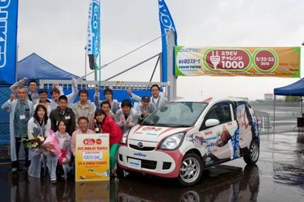 Electric Daihatsu Mira goes 623 miles on a charge, but not to a showroom near you