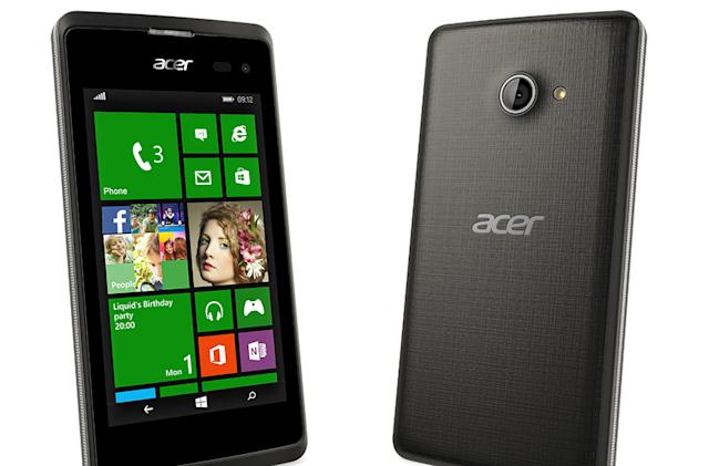 Acer's new Windows Phone is unlikely to blow you away