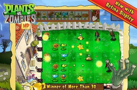 Plants vs. Zombies for iPhone and iPad now free as Apple's App of the Week
