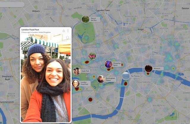 Snapchat brings Snap Map to the web