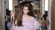 Kaia Gerber's Valentino Hair Had Everyone Talking