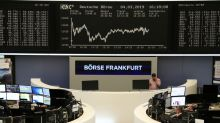 European shares eke out in directionless choppy session