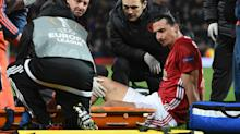 Shaw tells Man Utd team-mates Ibrahimovic and Rojo 'don't rush back'