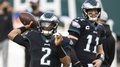 Hurts addresses Wentz trade for the first time