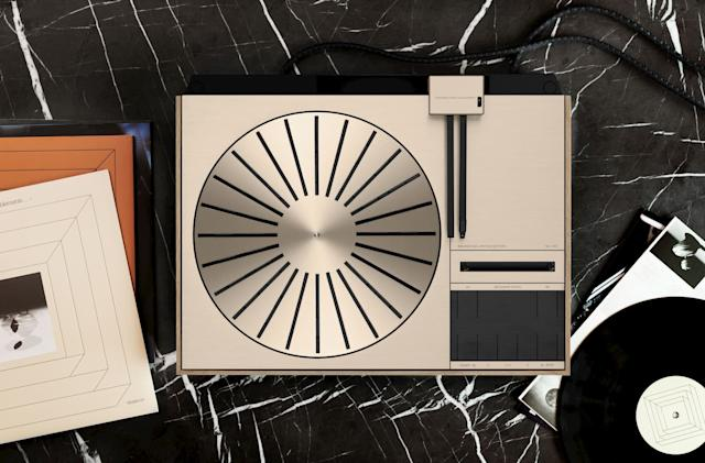 B&O is bringing back a turntable from the '70s and it costs $11,000