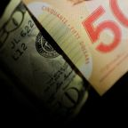 Canadian dollar, 'super-charged' by jobs data, posts one-month high