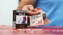 Warnings on cigarette packets will be replaced by Australian versions in no-deal Brexit