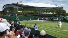 Chair umpire switches jobs with player, joins Patrick McEnroe during Wimbledon doubles