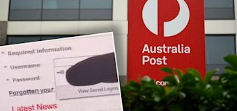 Bizarre detail spotted on Australia Post website