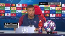 """Finale - Mbappé : """"Le PSG, un grand d'Europe ? Demain est l'occasion de rentrer dans ce cercle"""""""