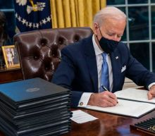 Dow Jones Rallies As Biden Issues Covid-19 Orders; Apple Stock Rises