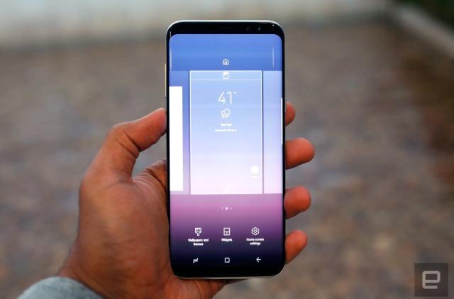 Samsung's Galaxy S8 UK pricing starts at £689